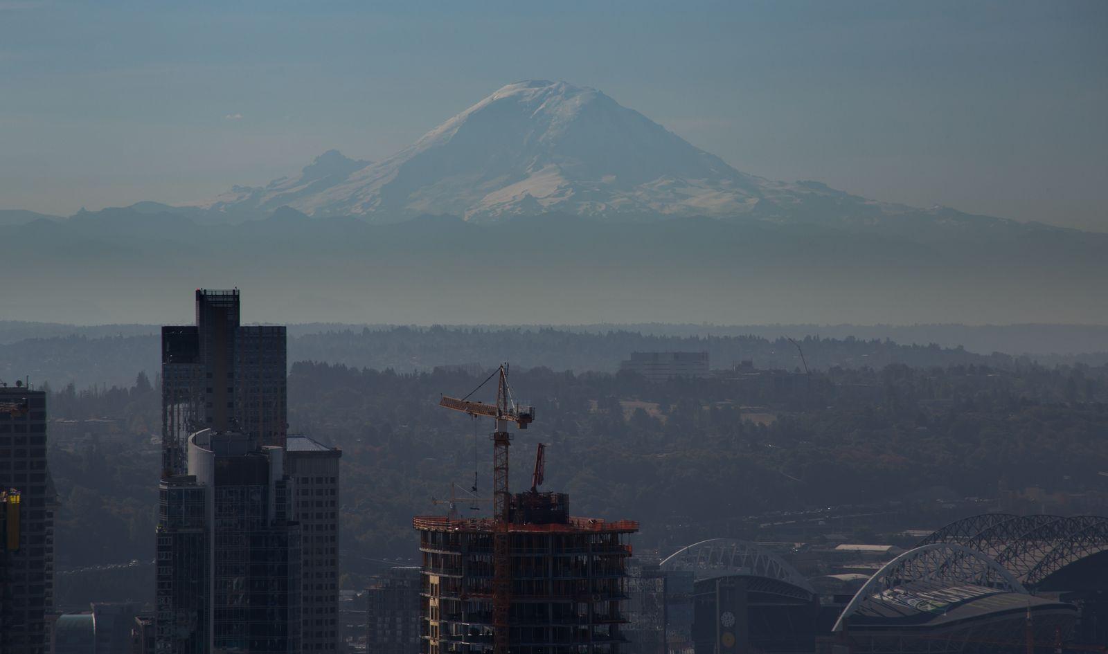 Y otra vez el majestuoso Mount Rainier