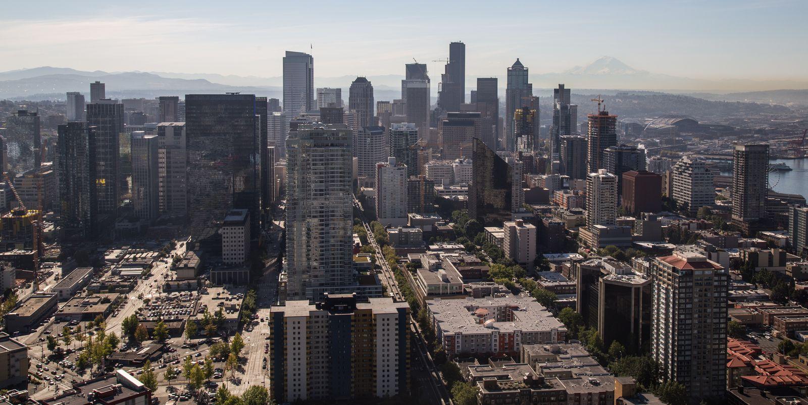 Seattle desde la Space Needle