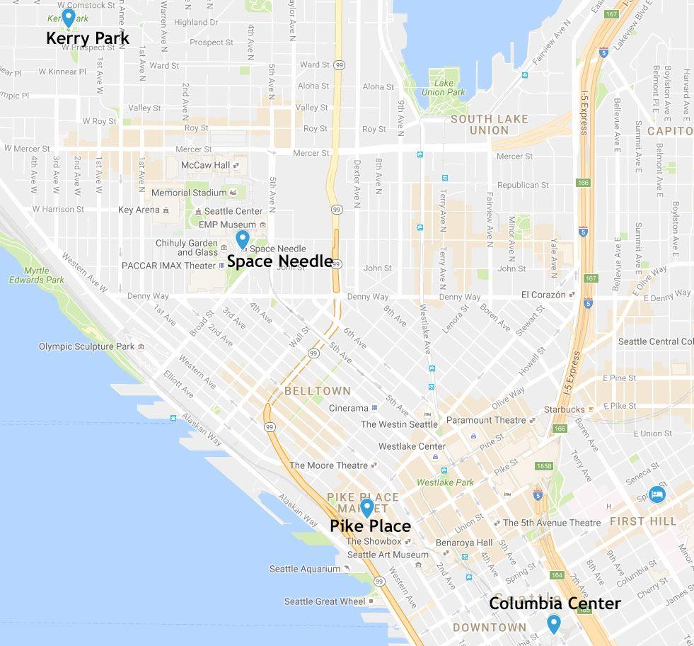 Mapa de la etapa 1