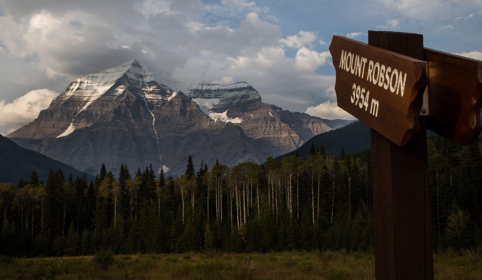 Por fin, Mount Robson como es debido