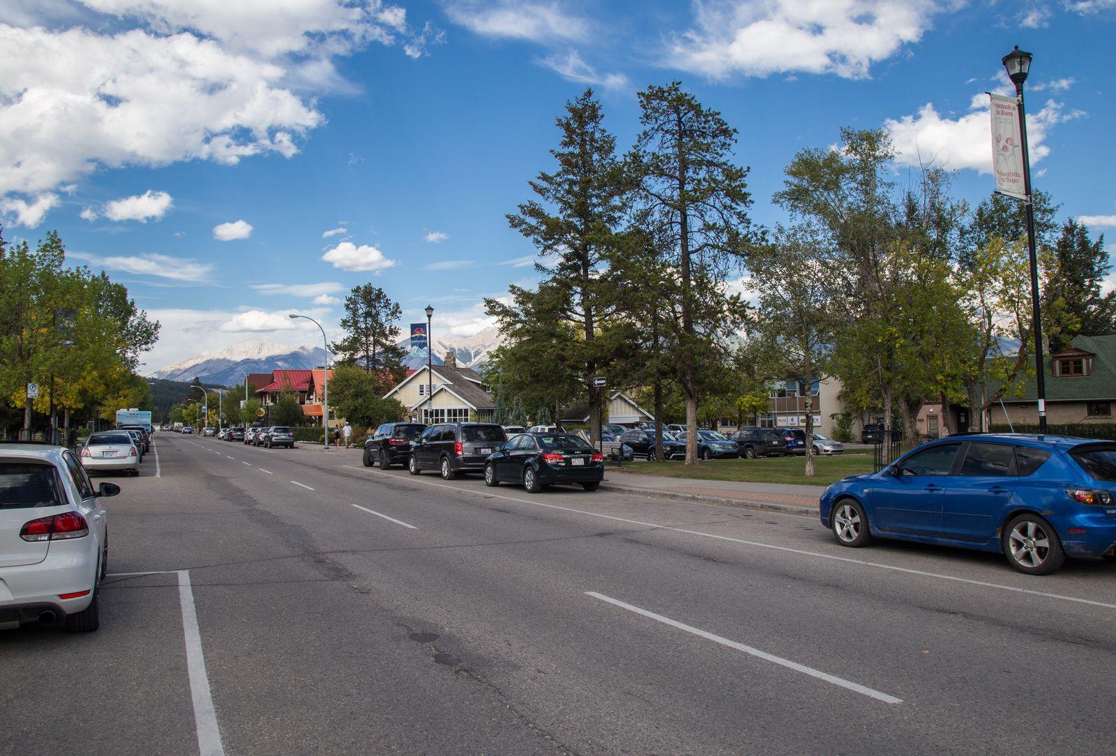 La calle donde casi se queda nuestro coche