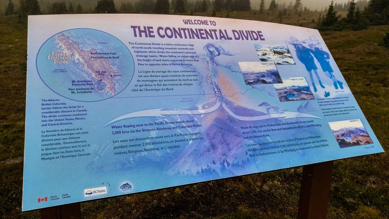 La división continental, explicada