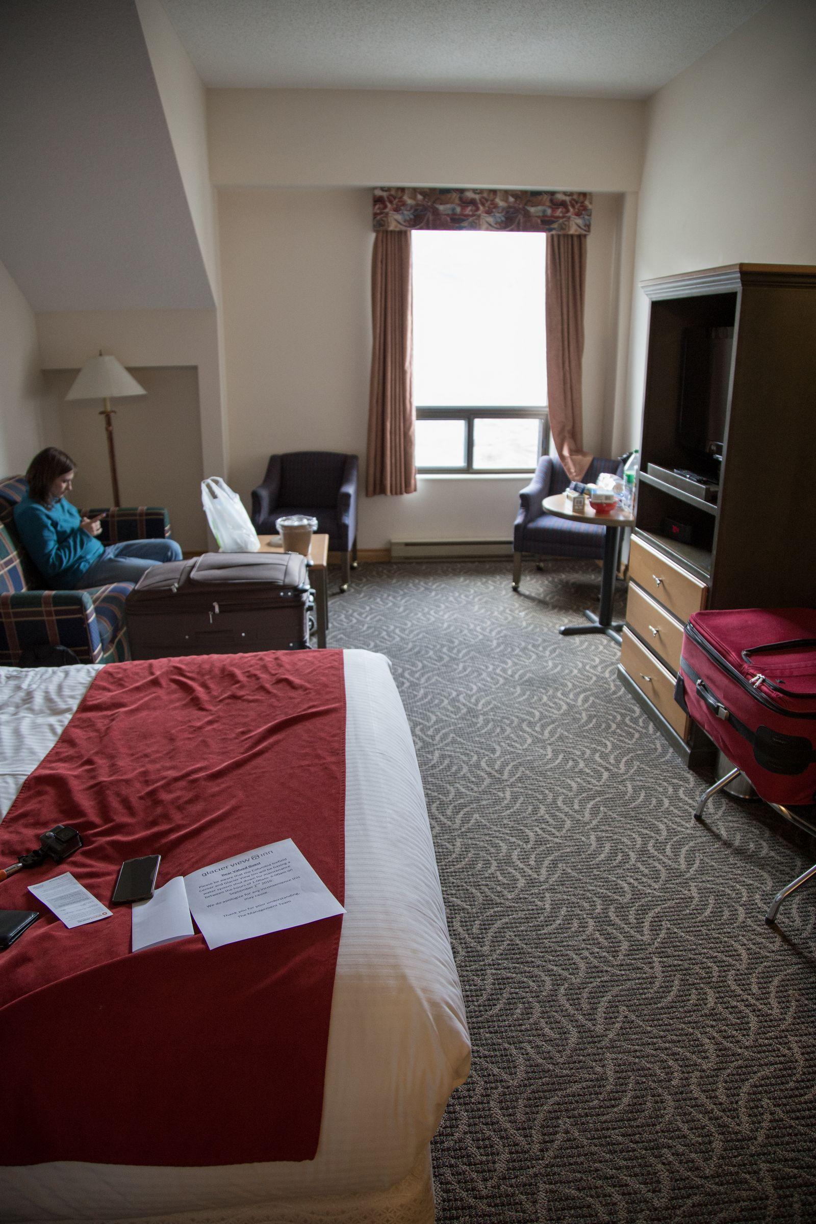 La habitación de Glacier View Inn (I)