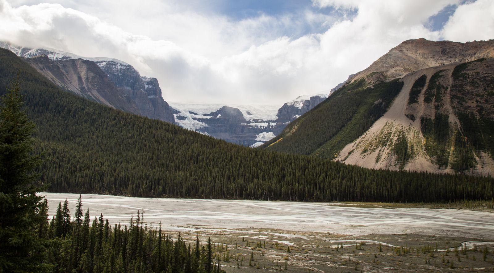 Un detalle del glaciar