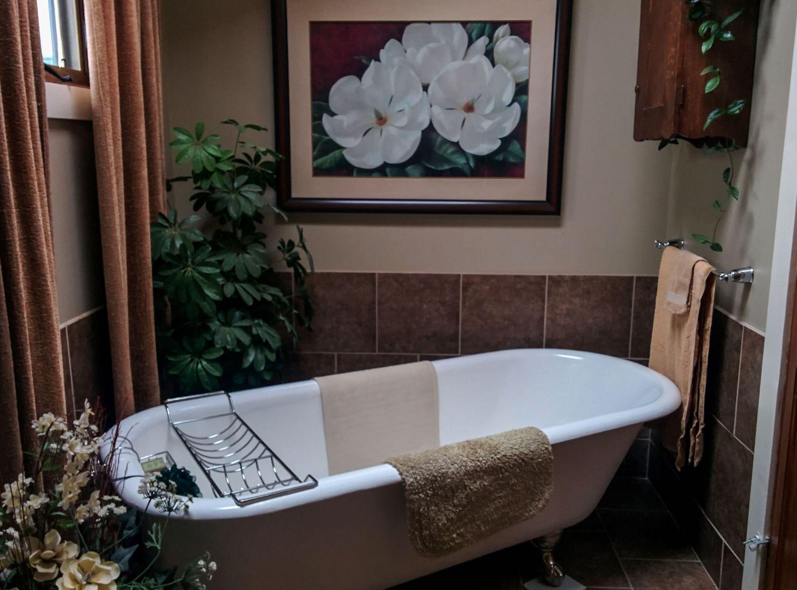 Rendezvous Ranch, la bañera