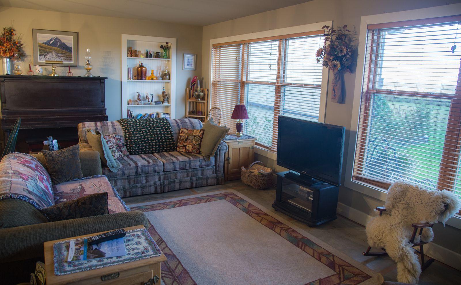 Rendezvous Ranch, el salón (II)