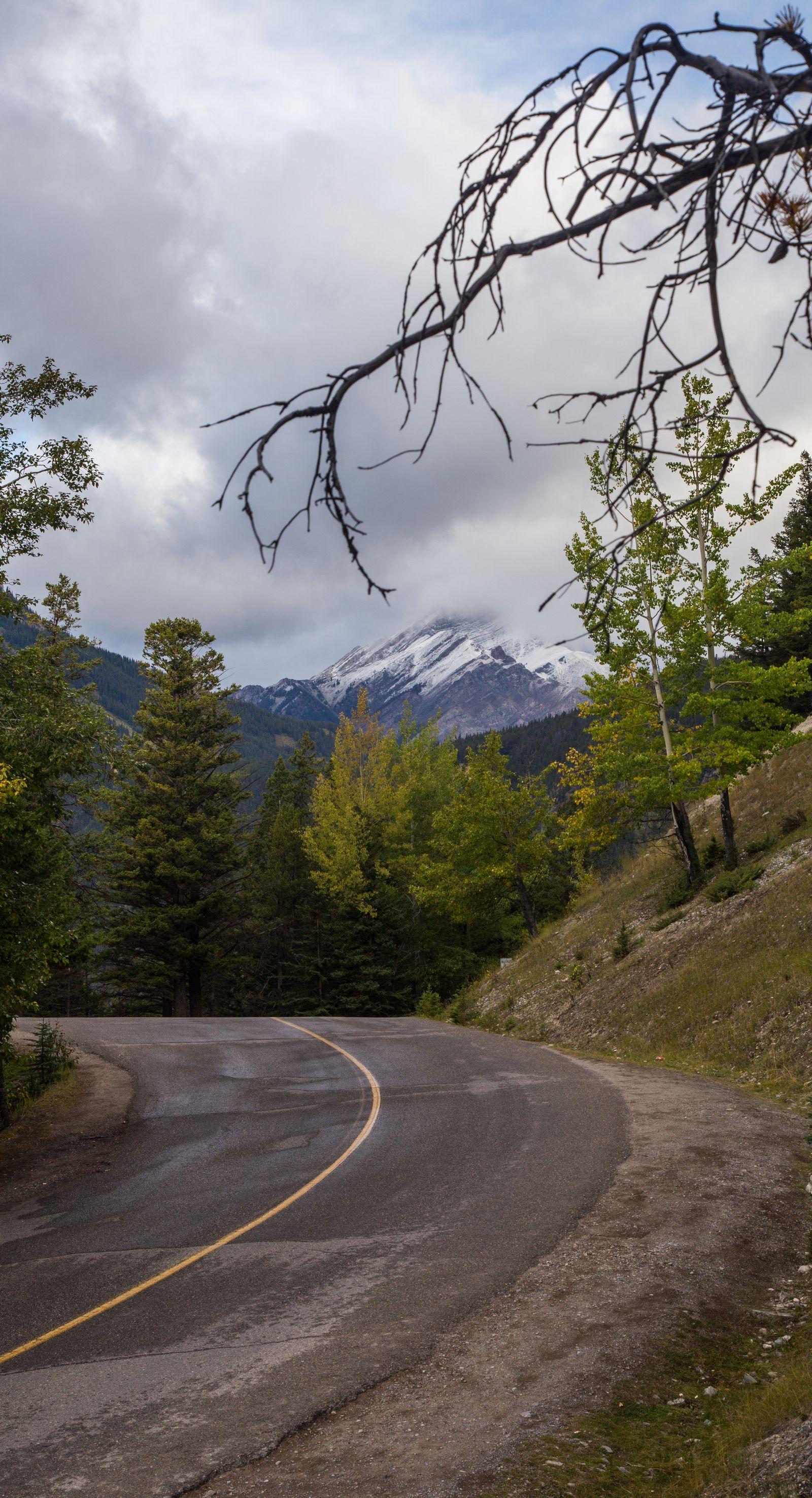 Carreteras de Banff