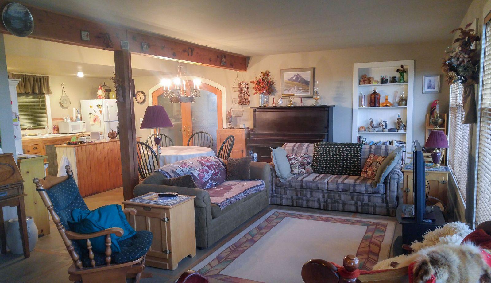 Rendezvous Ranch, el salón