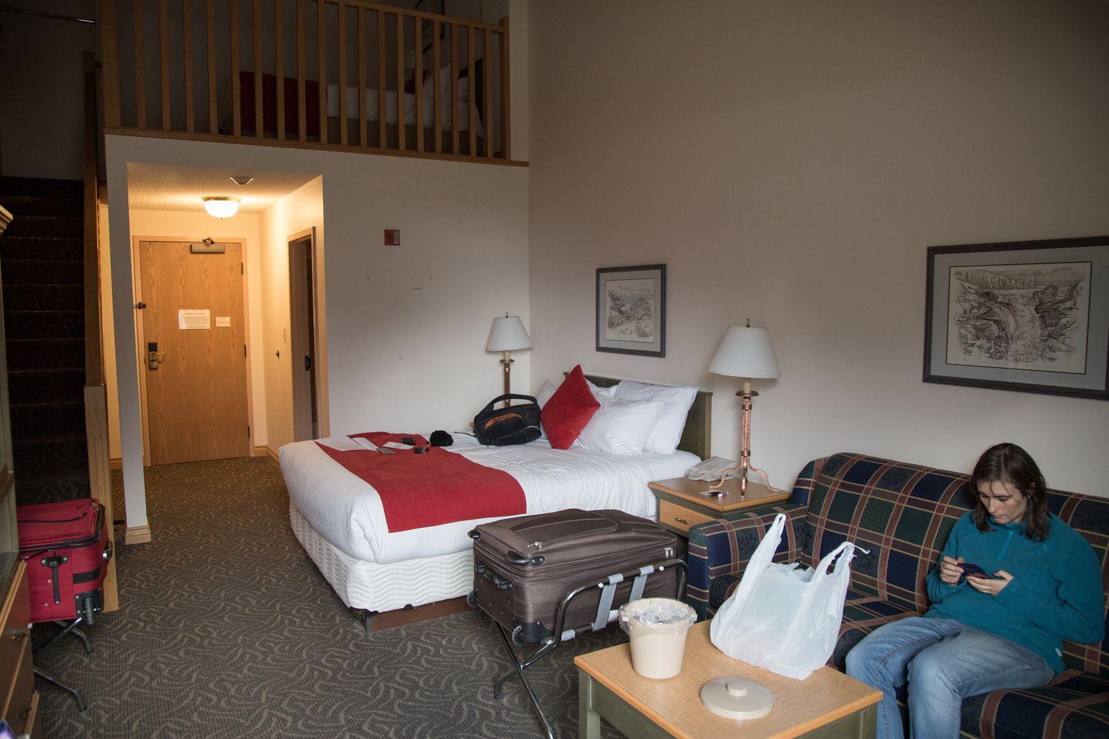 La habitación de Glacier View Inn (II)