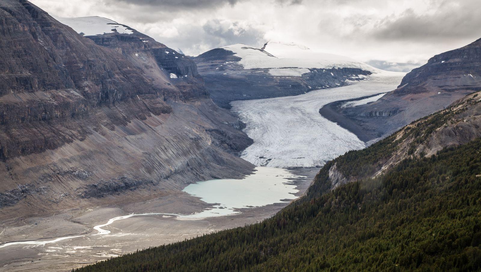 Detalle del glaciar...