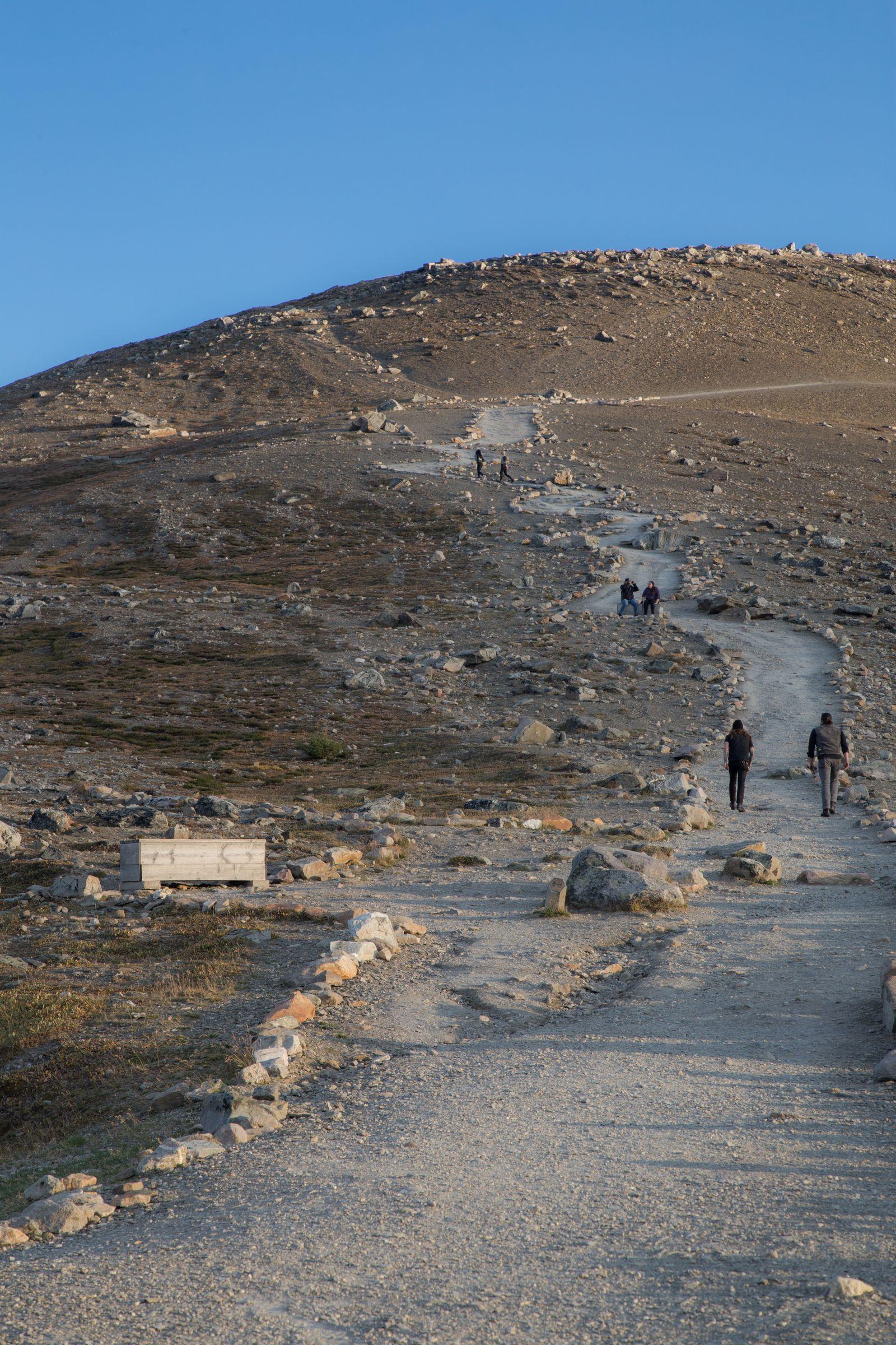 Inicio de la subida Whistler Mountain