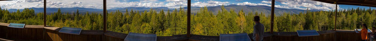 Las amplias vistas de Green Mountain