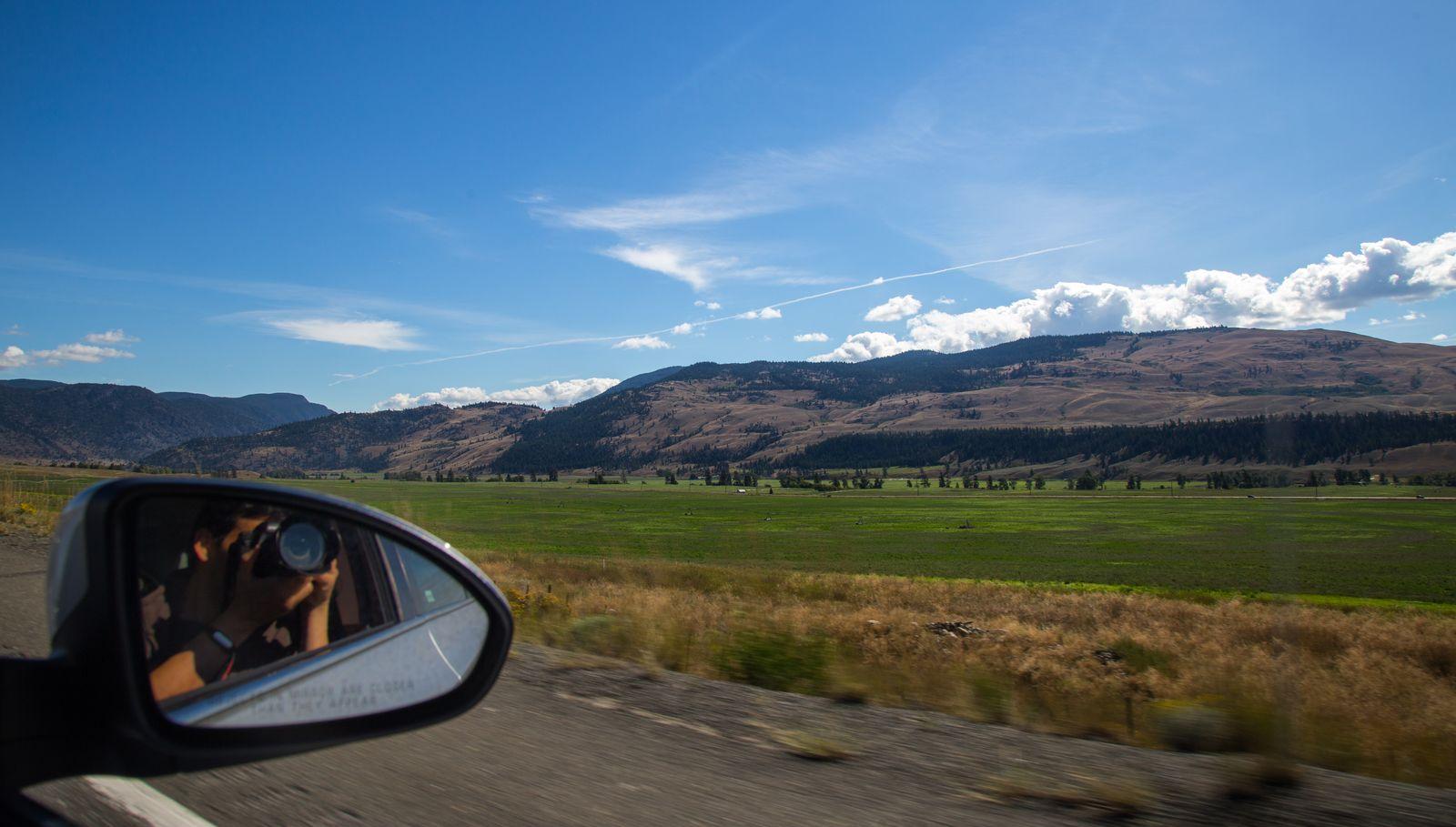 Cómo se disfruta el paisaje desde el asiento de copiloto