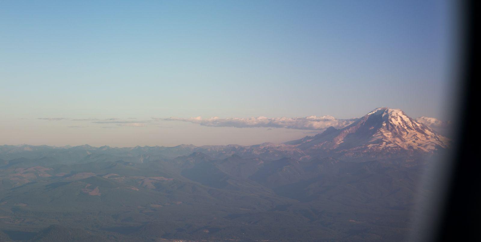 Mount Rainier, la mejor bienvenida