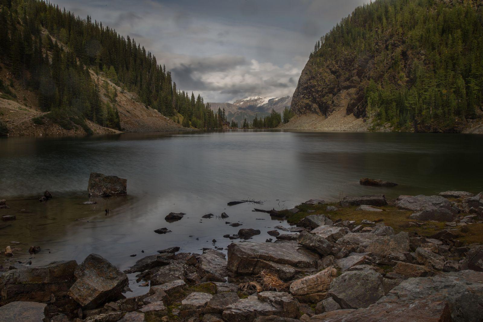 Lake Agnes tras el descenso