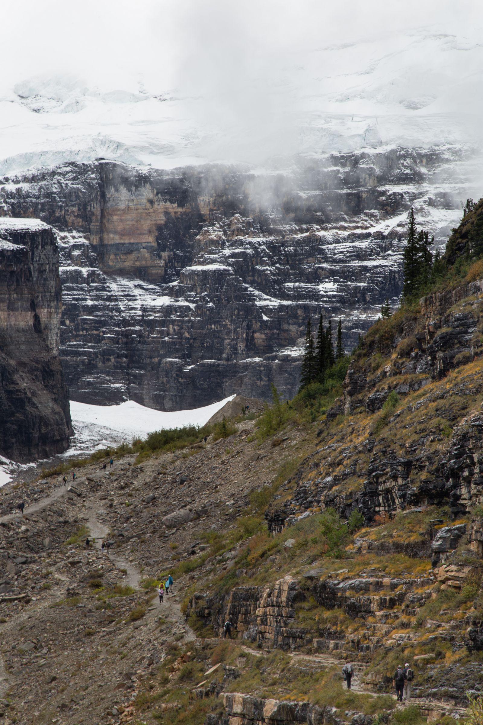 Victoria Glacier, cada vez más cerca