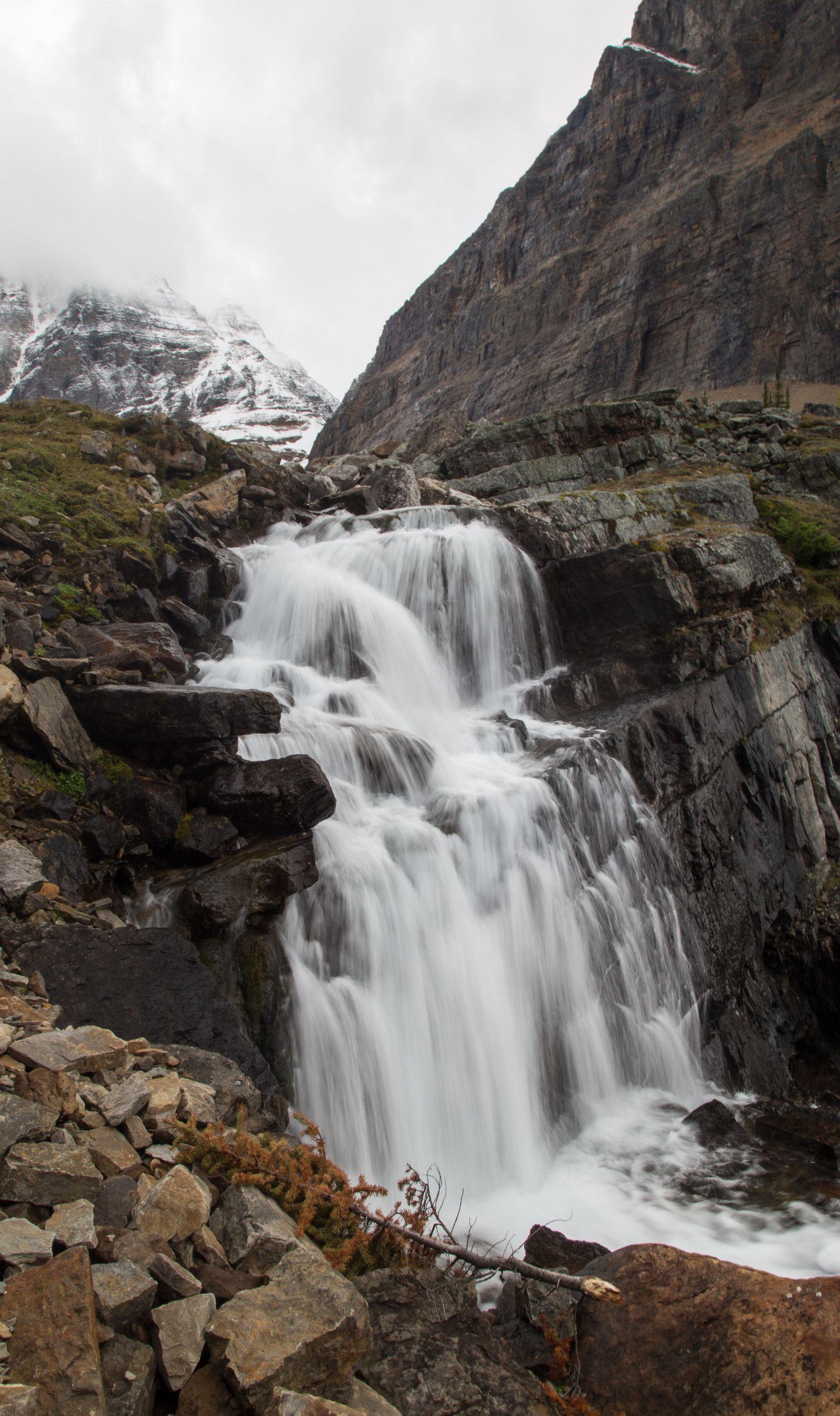 Otra vez cascadas, otra vez fotos