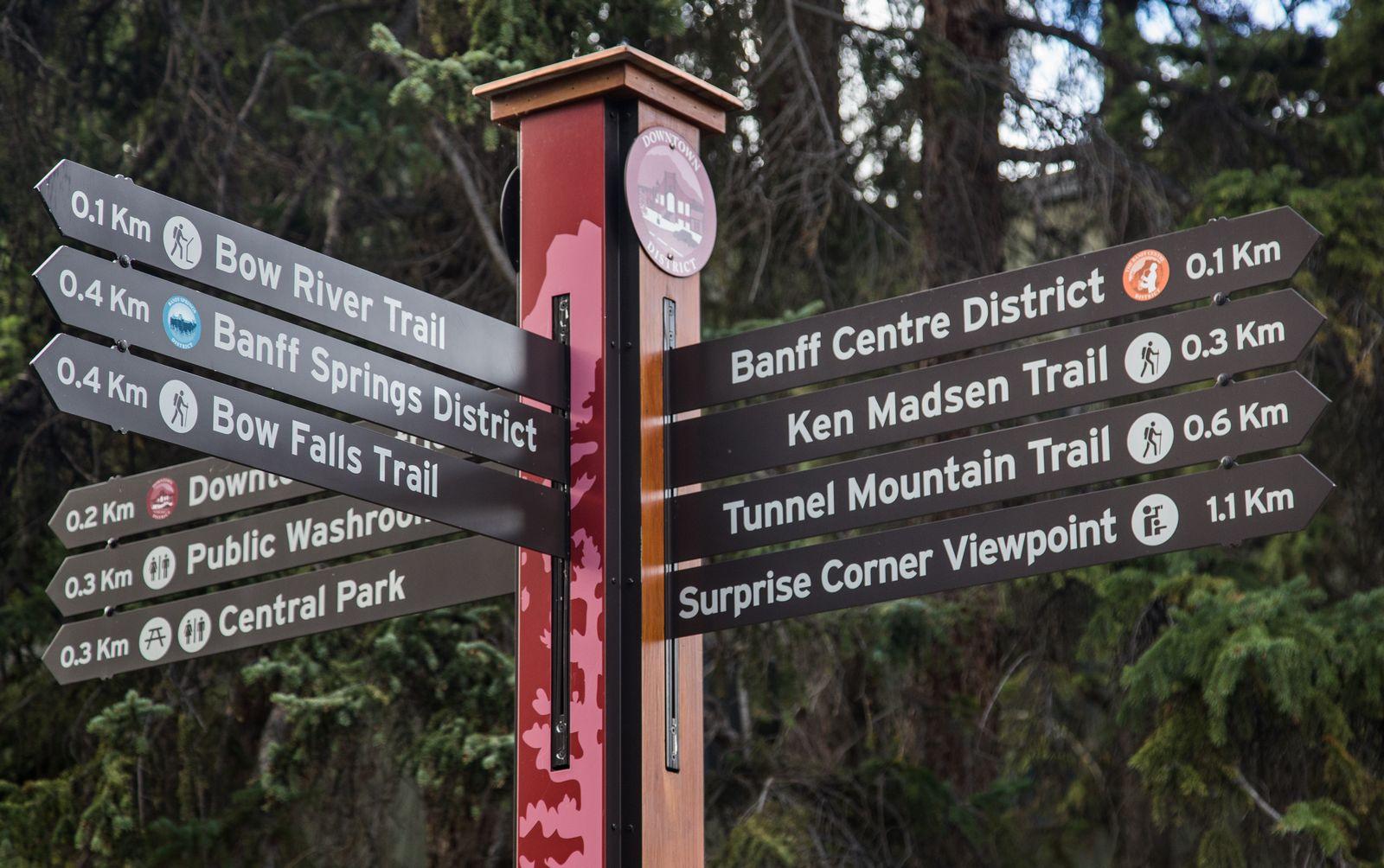 Sí, parece que hay cosas que hacer en Banff