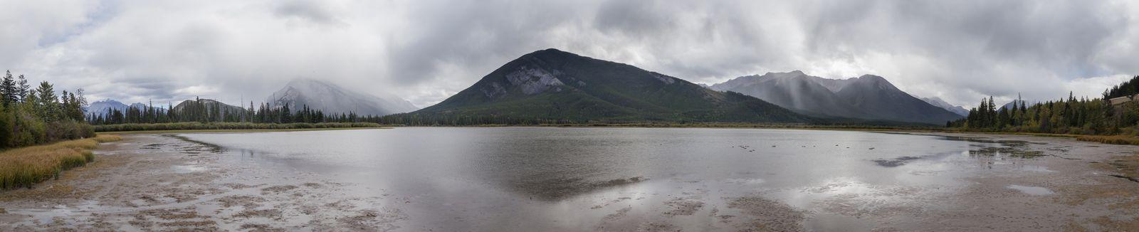 Último vistazo a Vermilion Lakes