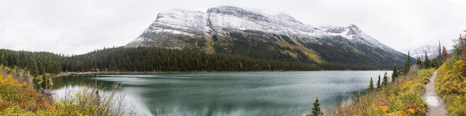Lake Josephine, de lado a lado
