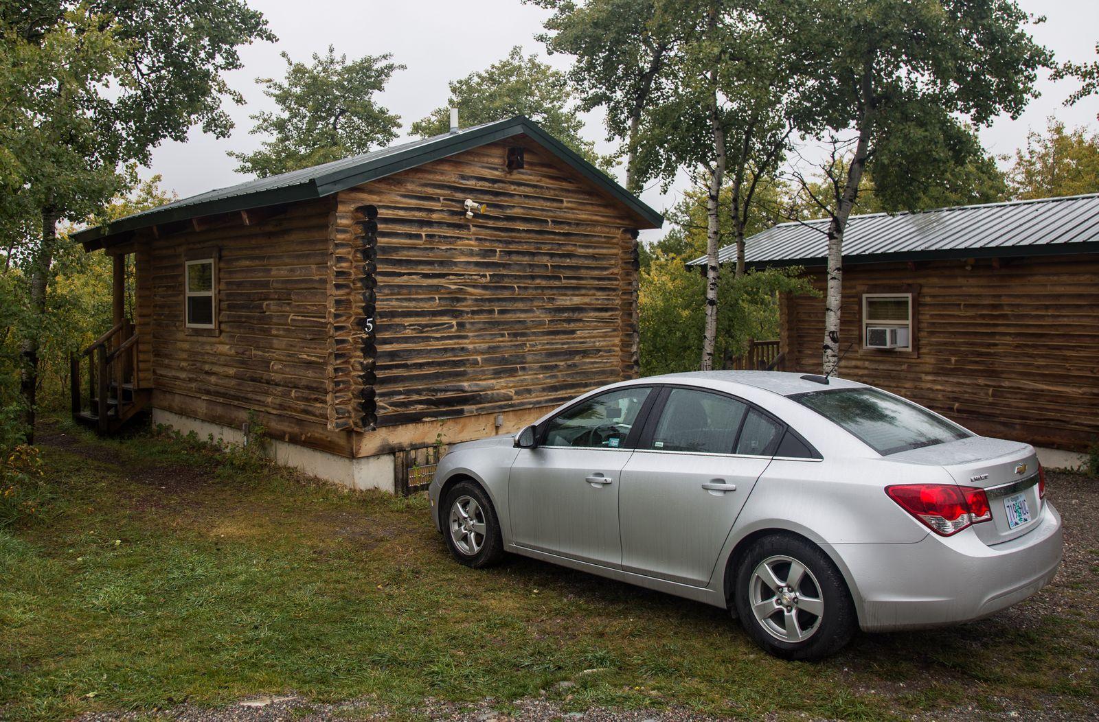 Los exteriores de nuestra acogedora cabaña