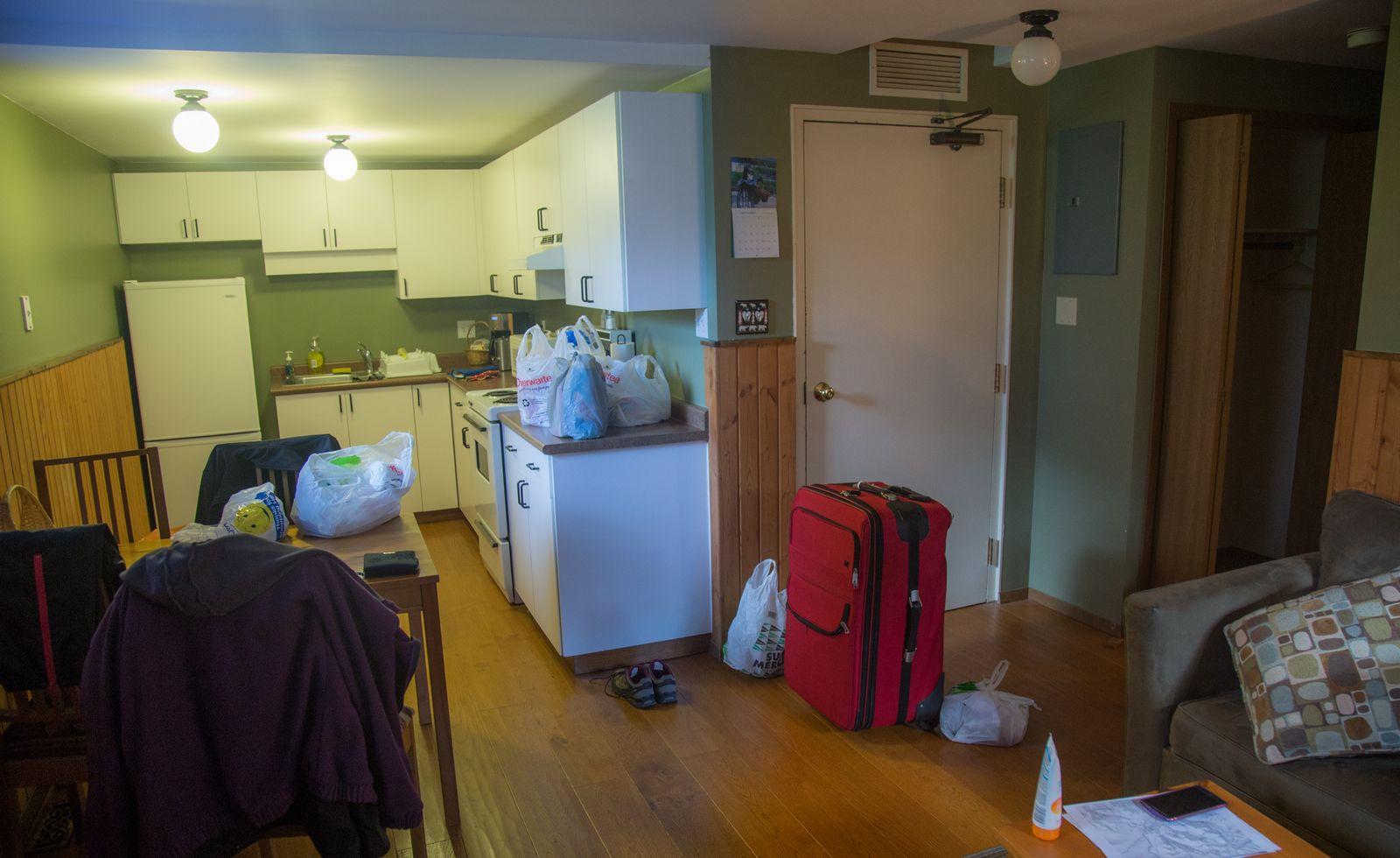 Mount Stephen Guesthouse, la cocina (I)