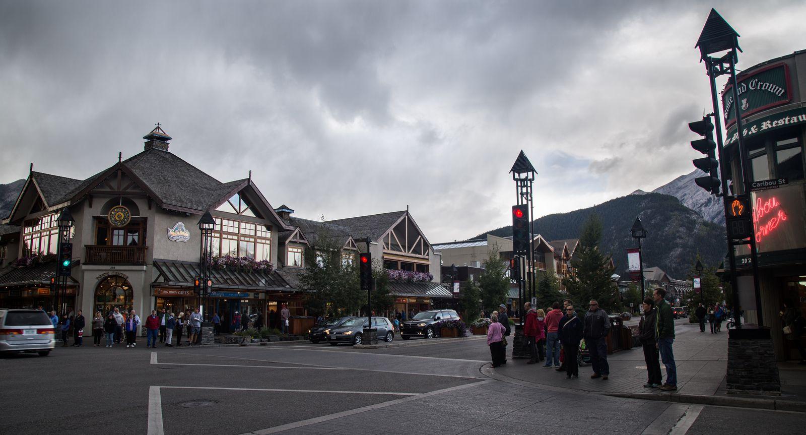 Banff y el regreso a la civilización