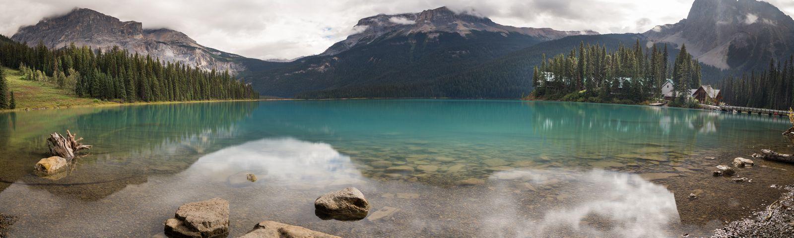 Emerald Lake, ahora desde la orilla opuesta