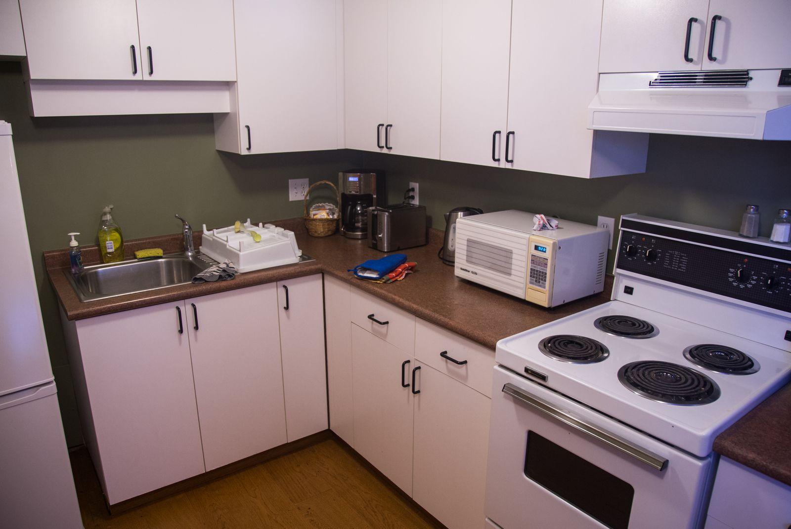 Mount Stephen Guesthouse, la cocina (II)