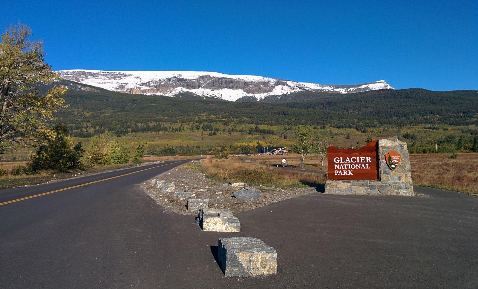 El acceso a Glacier National Park por St. Mary