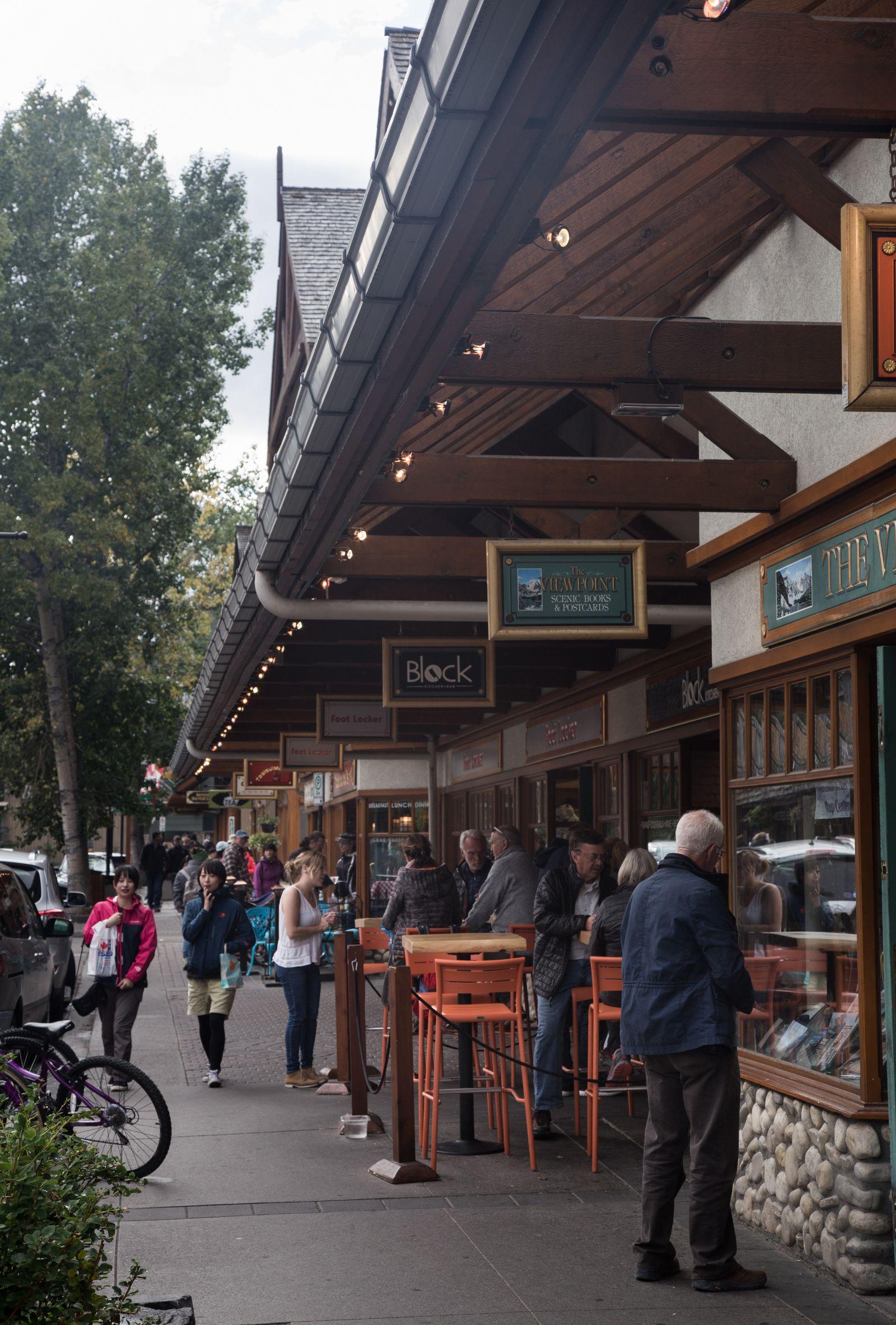 Más calles comerciales que nacen en Banff Avenue