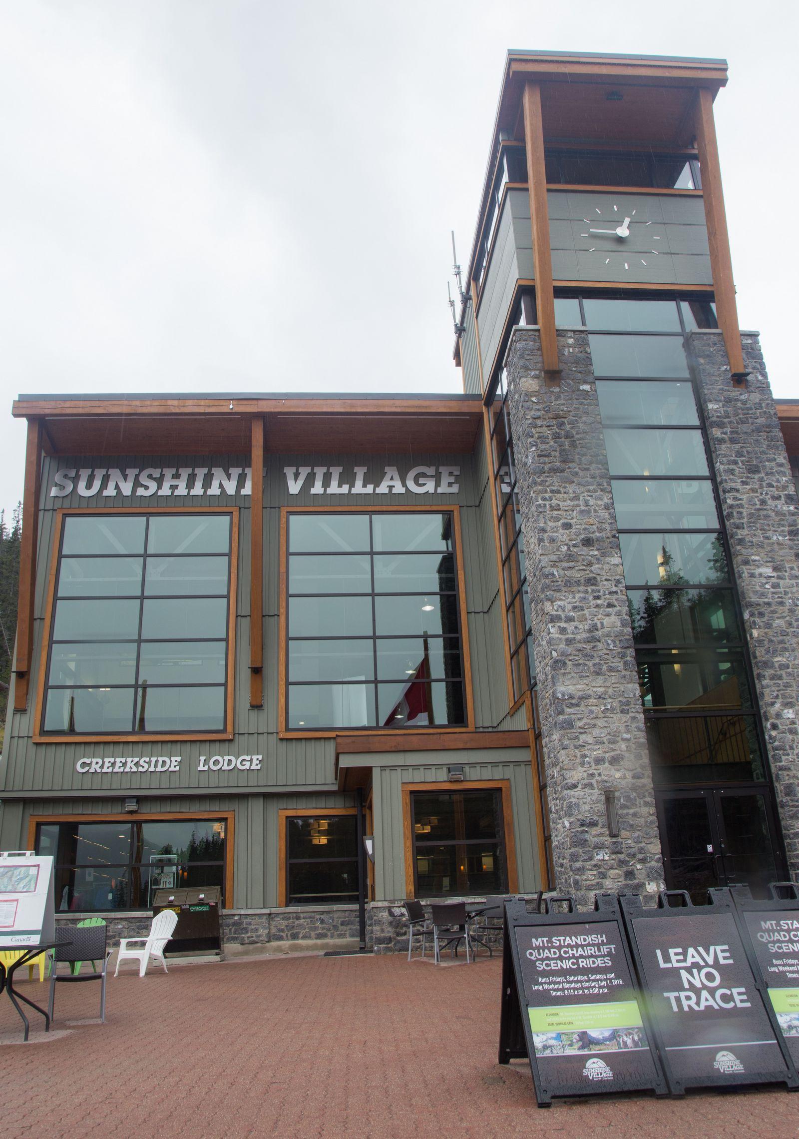 Nos despedimos de un Sunshine Village...