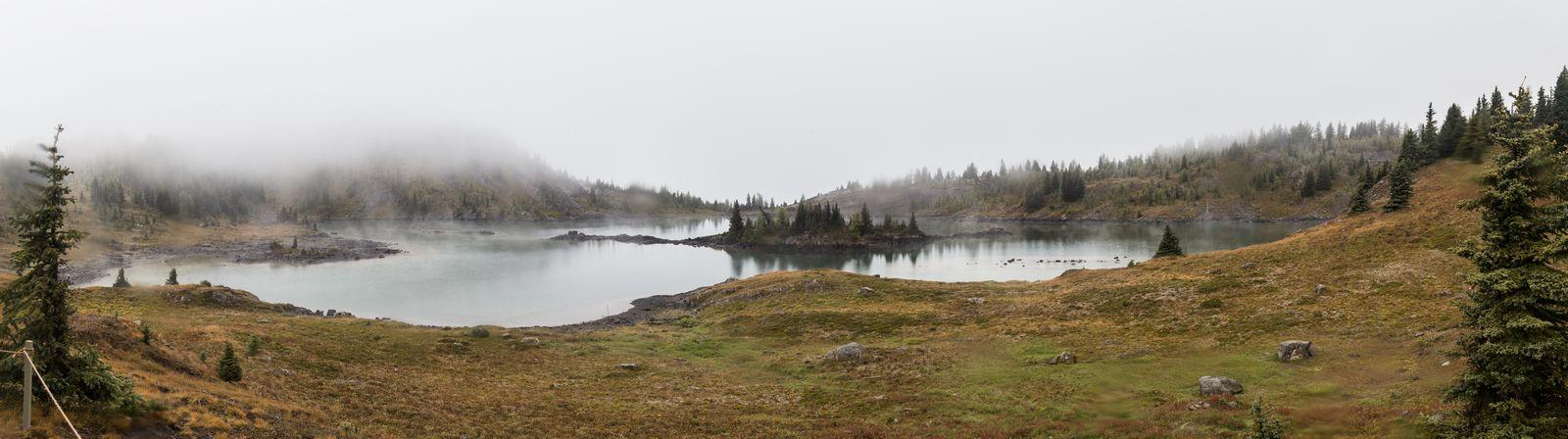 Lo que debería ser el flamante Rock Isle Lake