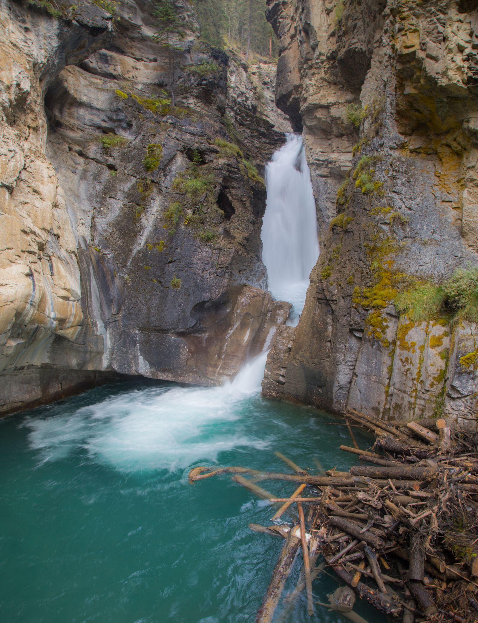 Las Lower Falls...