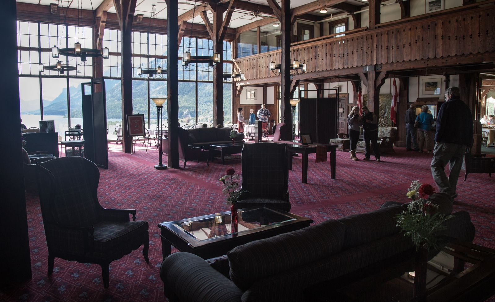 El interior del Prince of Wales
