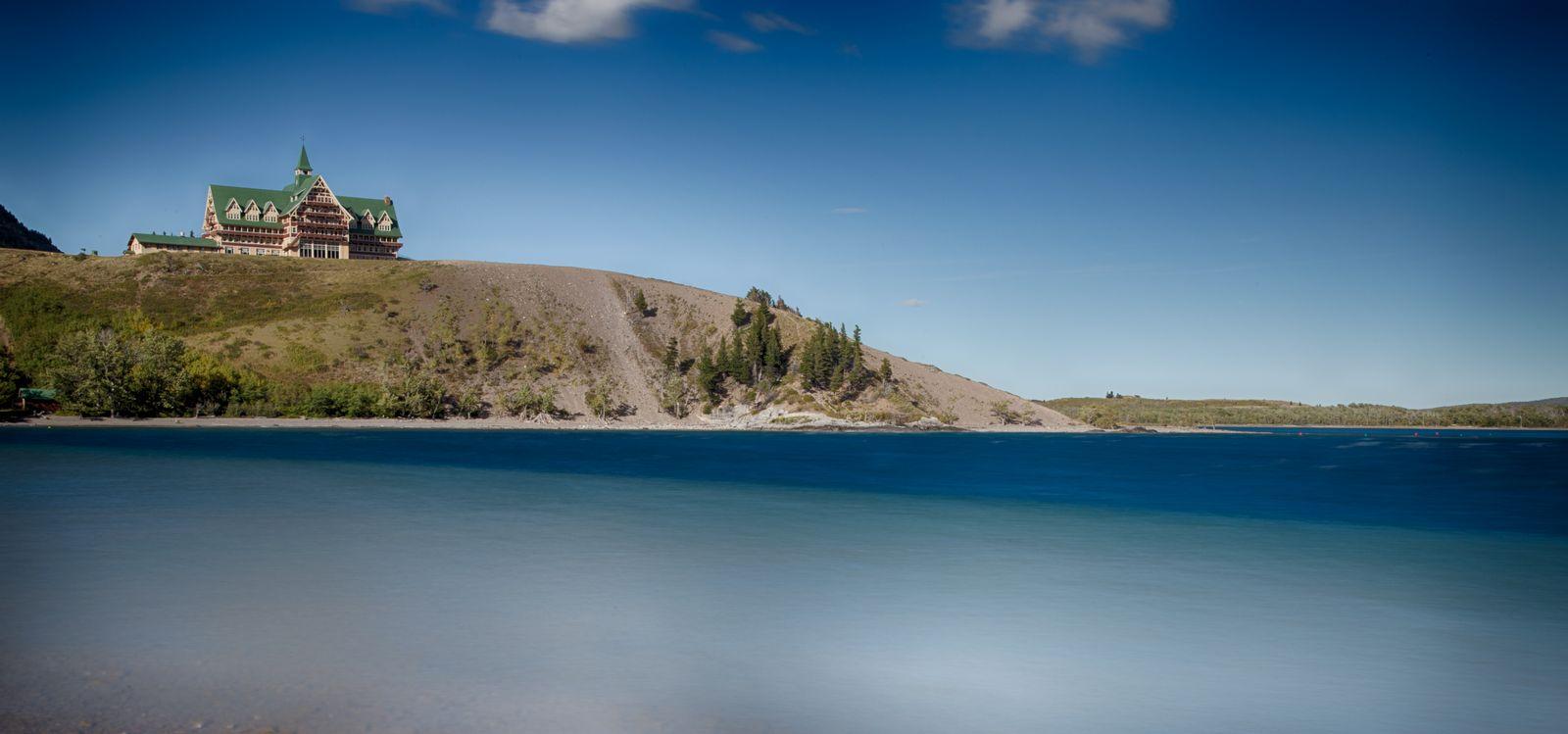 Otro punto de vista para disfrutar de Waterton Lake