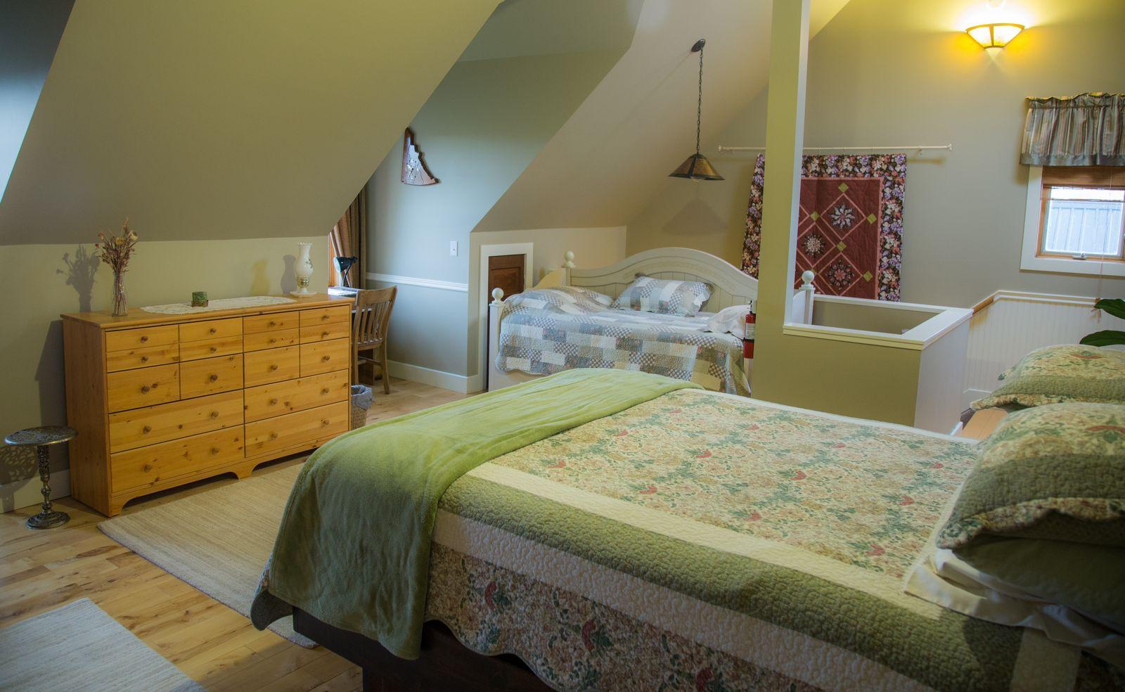 Rendezvous Ranch, el dormitorio
