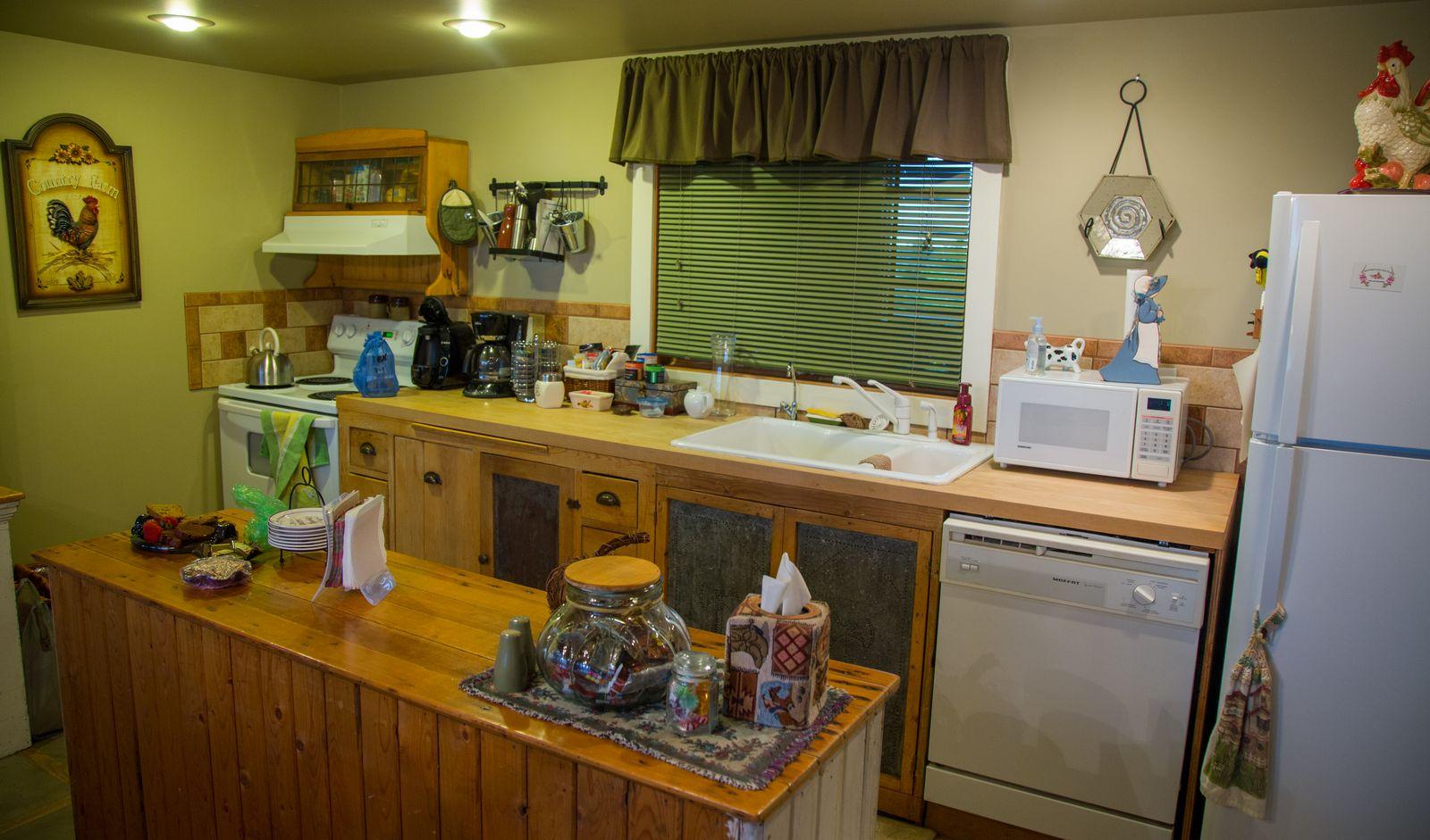 Rendezvous Ranch, la cocina