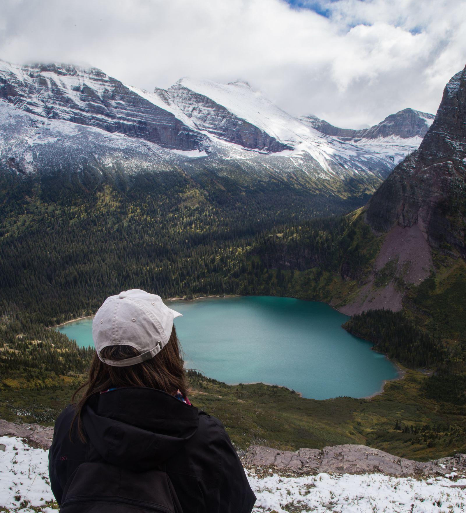 Grinell Lake, cada vez más lejos