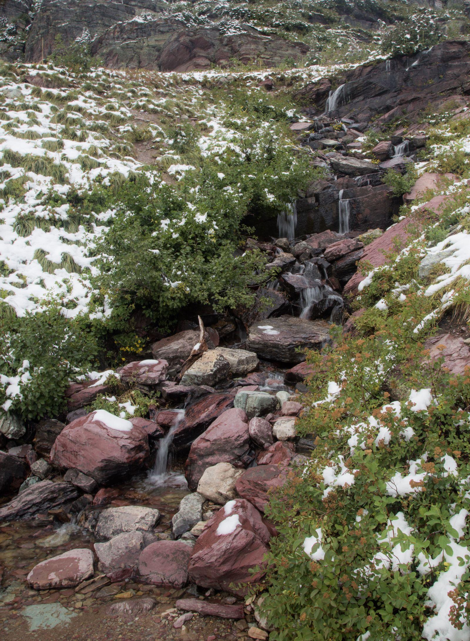 Donde hay nieve, también suele haber agua