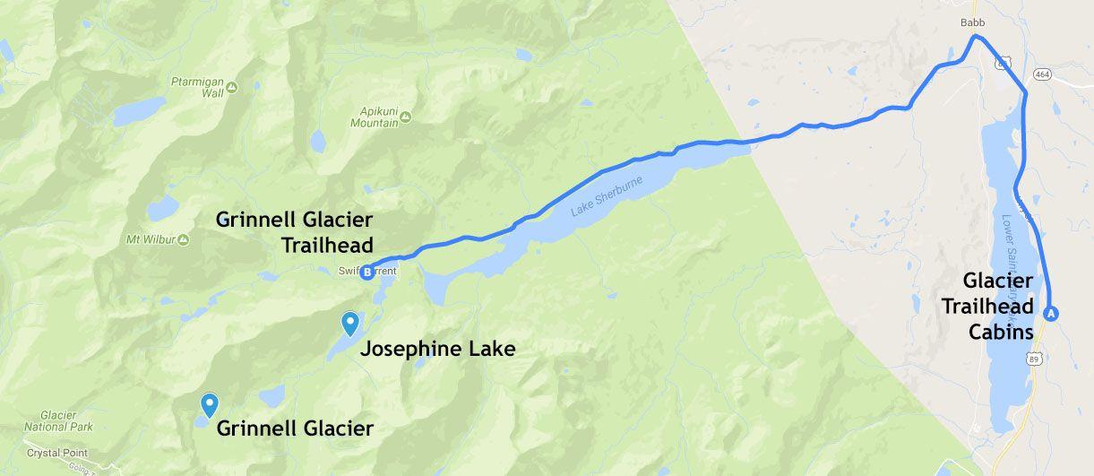 Mapa de la etapa 19