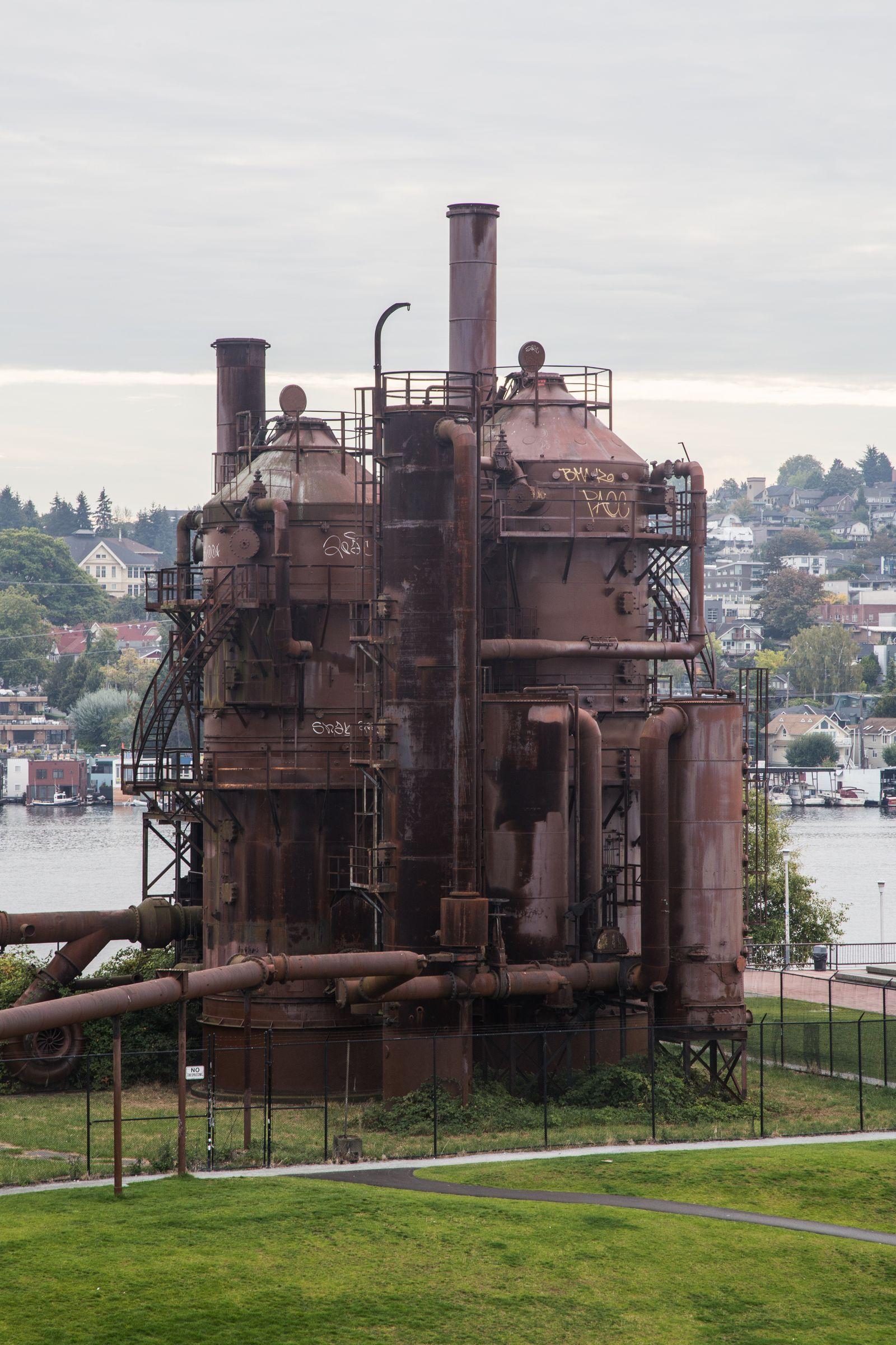 La vieja fábrica de carbón