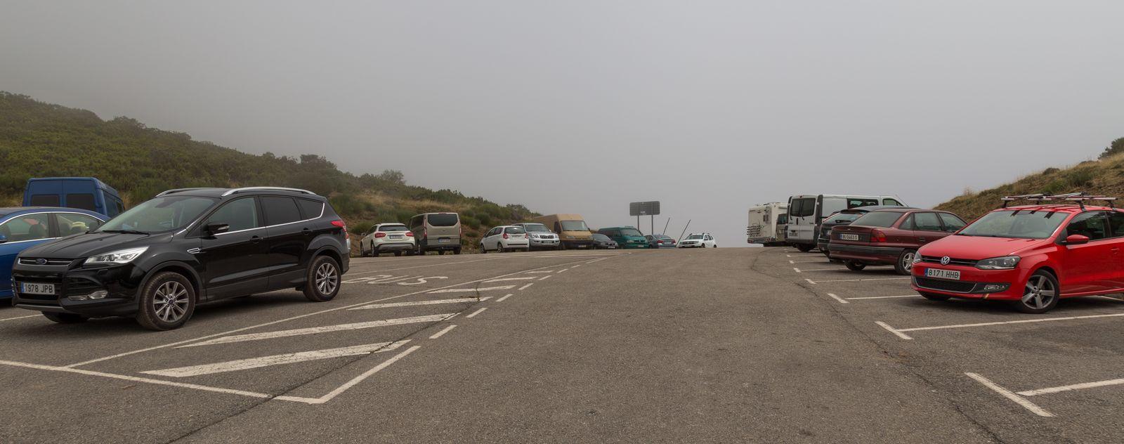 El parking, ahora más poblado