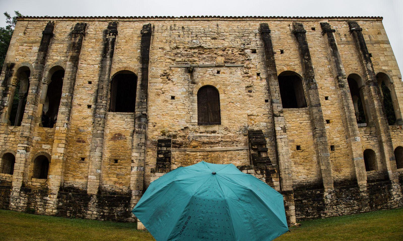Comenzando las visitas de un día de paraguas
