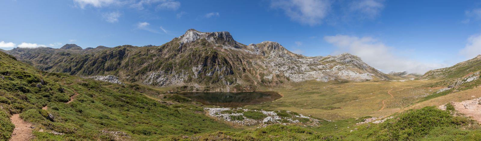 El Lago Cerveriz y la continuación del camino
