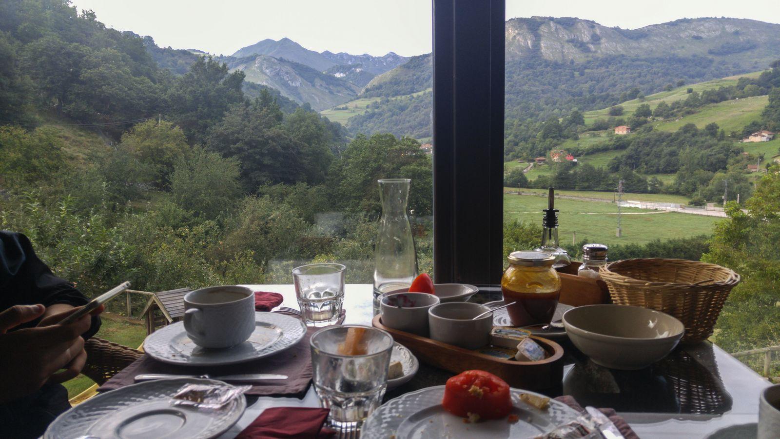 Desayuno con vistas