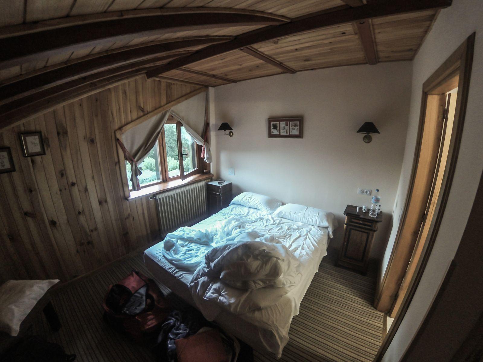 La habitación...