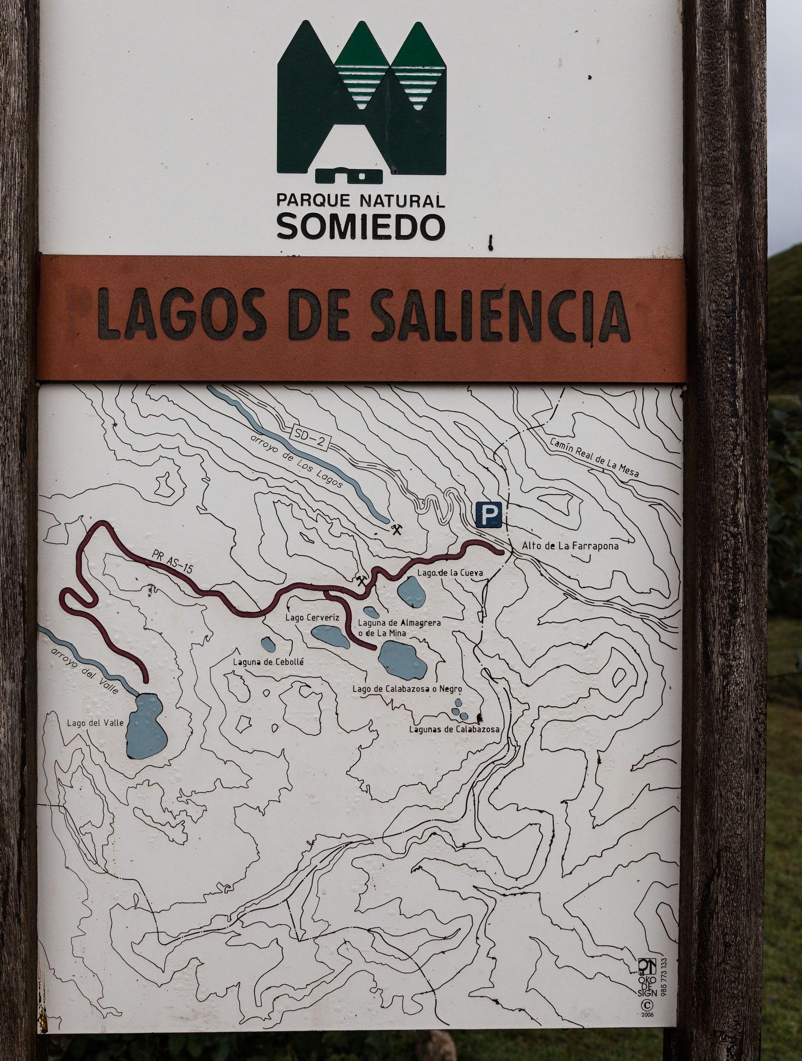 La ruta que incluye nuestra excursión para hoy