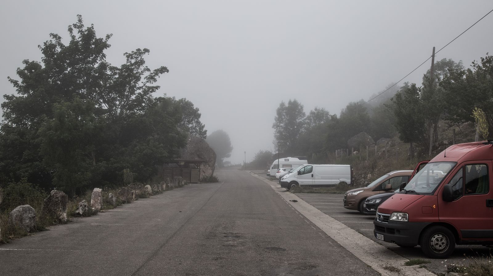 Niebla para empezar...