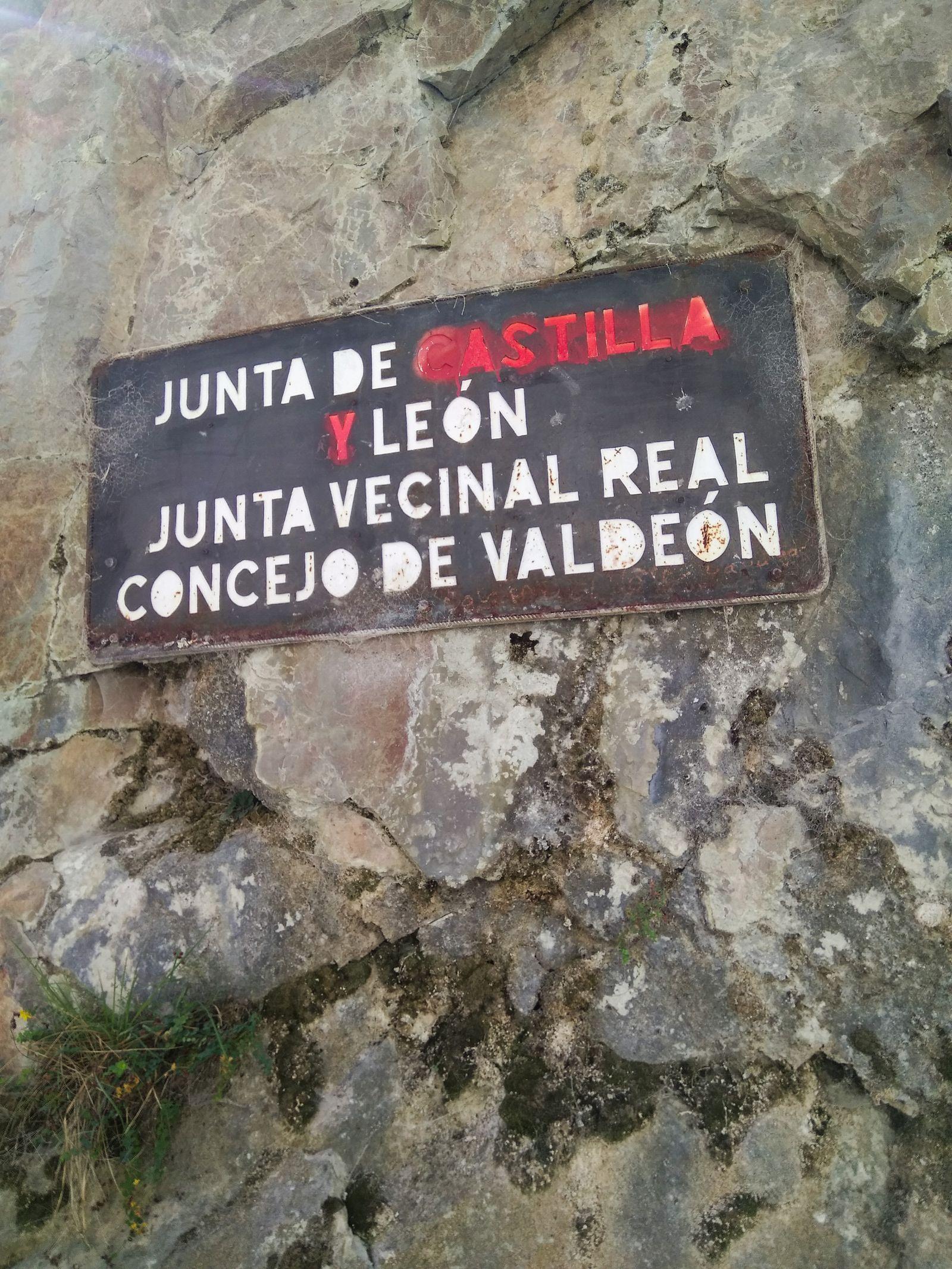 Separando Asturias de Castilla y León